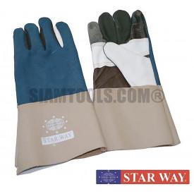 """ถุงมือหนังเฟอร์นิเจอร์ Starway-12"""" ฮาร์ดแวร์"""