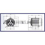 มอเตอร์ไฟฟ้า 3 สายตราช้างยนต์ TSM -5TF-5HP(IP55) ฮาร์ดแวร์