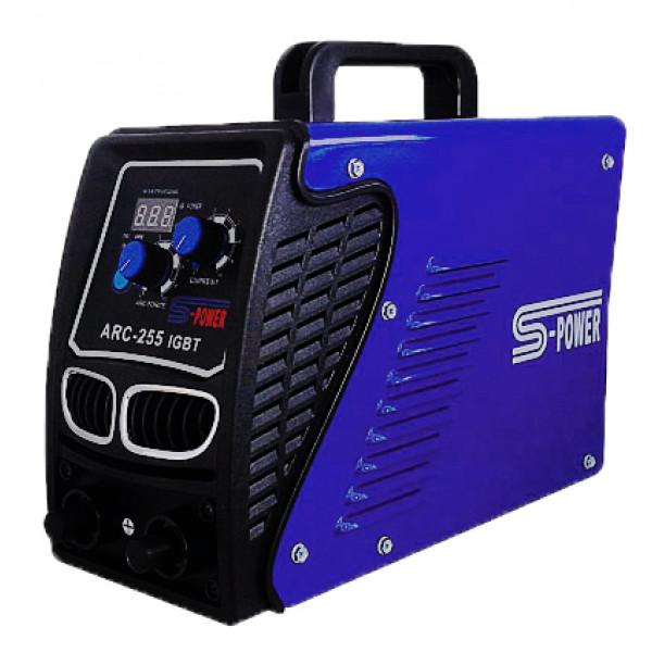 เครื่องเชื่อมระบบ IGBT ป้องกันน้ำได้S-Power- ARC-255 ฮาร์ดแวร์