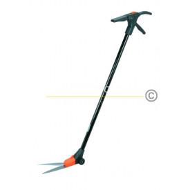 กรรไกรตัดกิ่งไม้ก้านยาว ใบมีดหมุนได้ Tiger-H2105 เครื่องมือการเกษตร