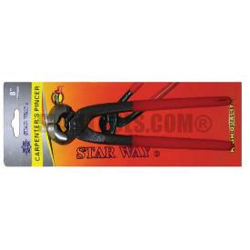 """คีมผูกลวด ขากลม หุ้มยางสำหรับงานหนัก รุ่นแผง STARWAY(8"""") ฮาร์ดแวร์"""