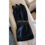 ถุงมือยาง รุ่นบางสีดำ- Size -XL ฮาร์ดแวร์