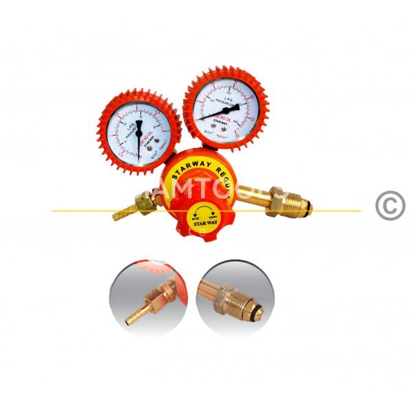 เกจ์วัดแรงดันแก๊สแอลพีจี-LPG Regulator ฮาร์ดแวร์