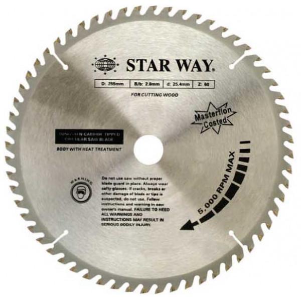 """ใบเลื่อยวงเดือนสำหรับงานไม้ Starway-   12"""" x 40T ฮาร์ดแวร์"""