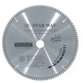 """ใบเลื่อยวงเดือนตัดอลูมิเนียม Starway- (   12""""x100T) ฮาร์ดแวร์"""