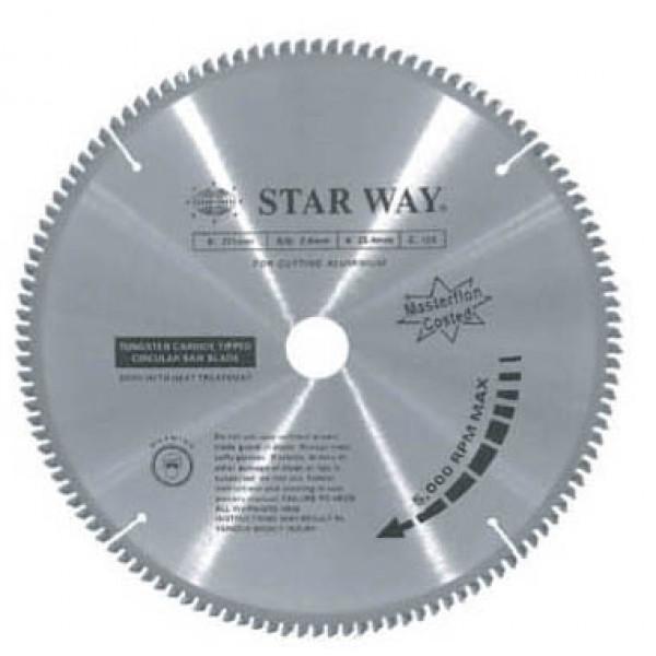 """ใบเลื่อยวงเดือนตัดอลูมิเนียมStarway - ( 12"""" X 120T) ฮาร์ดแวร์"""