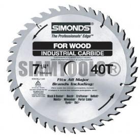 """ใบเลื่อยวงเดือน12""""(305mm.)x 24T-120T สำหรับงานไม้ SiMonds- ฮาร์ดแวร์"""