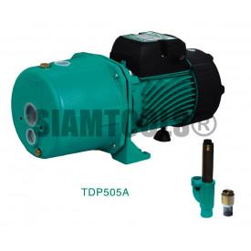 """ปั๊มเจ๊ทคู่ TAIFU -TDP505A-1.5HP (1.25""""X1""""X1"""") เครื่องมือการเกษตร"""