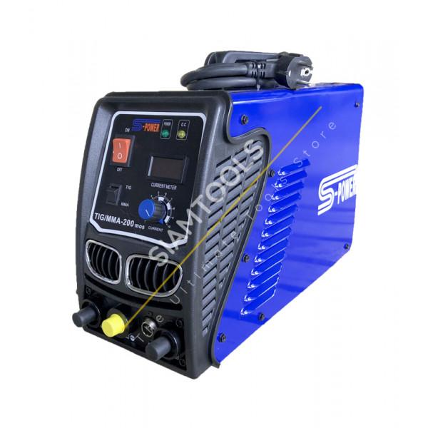 เครื่องเชื่อมไฟฟ้า Inverter S-POWER-TIG MMA-200 ฮาร์ดแวร์