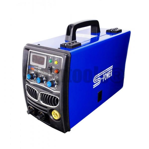 เครื่องเชื่อมไฟฟ้า Inverter S-POWER-MIG MMA-200 ฮาร์ดแวร์