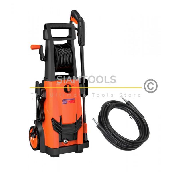เครื่องฉีดน้ำแรงดันสูงสีส้ม S-POWER-SP-W165-2200w. ฮาร์ดแวร์