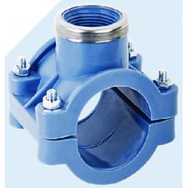 อุปกรณ์ข้อต่อสำหรับท่อ HDPE แบบสวมอัด