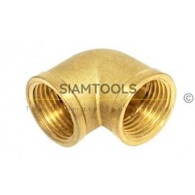 ข้องอ 90 ม.ม.ทองเหลือง- LX-B009  ประปา