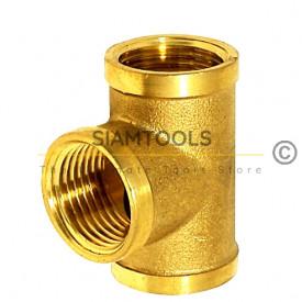 สามทางทองเหลือง LX-BO10 ข้อต่อทองเหลือง