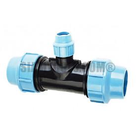 สามทางลด สำหรับท่อ HDPE แบบสวมอัด 110x90x110mm ประปา