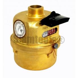 มิเตอร์น้ำ มาตรวัดน้ำทองเหลืองชุบ แนวตั้ง TAYO-LXHY-15A ประปา