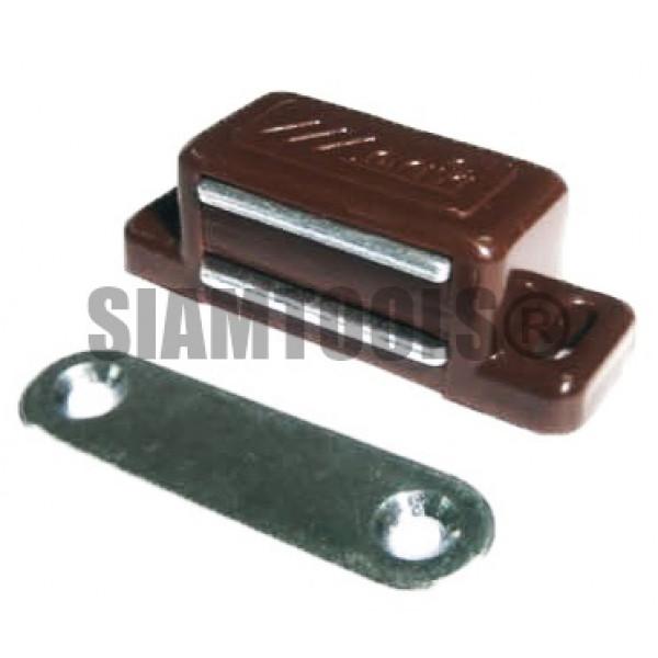 กันชนประตูแม่เหล็ก สีน้ำตาลตัวเล็ก-MC-03A ฮาร์ดแวร์