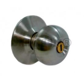 ลูกบิดประตูห้องน้ำ สแตนเลส WIN-7791 ST/BK ฮาร์ดแวร์