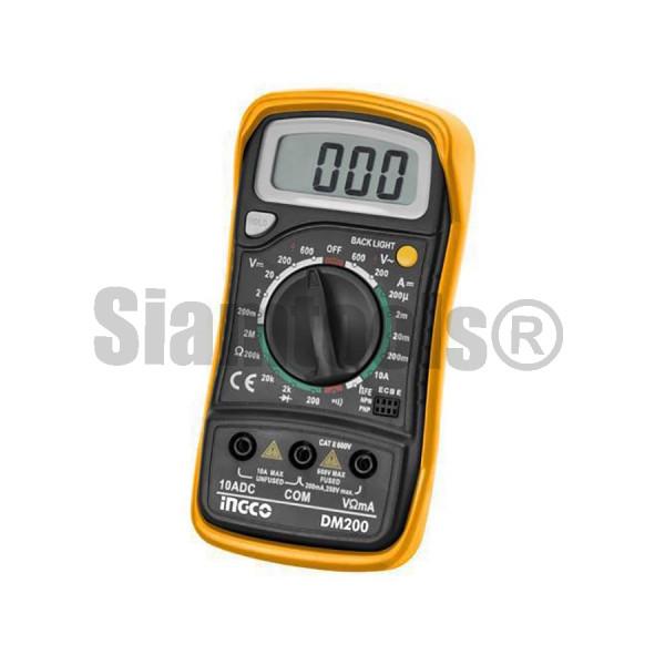 มัลติมิเตอร์ iNGCO-DM200 ฮาร์ดแวร์