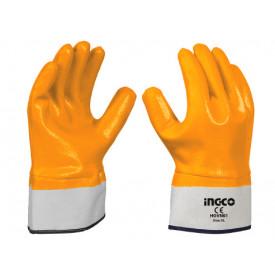 ถุงมืออุตสาหกรรมเคลือบเต็มINGCO ฮาร์ดแวร์
