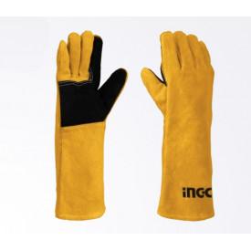 ถุงมือหนังสำหรับงานเชื่อม INGCO ฮาร์ดแวร์