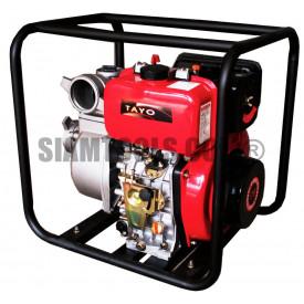 """ปั๊ม+เครื่องยนต์ดีเซล มีแท่น TAYO 80KB-3-(3"""") เครื่องมือการเกษตร"""
