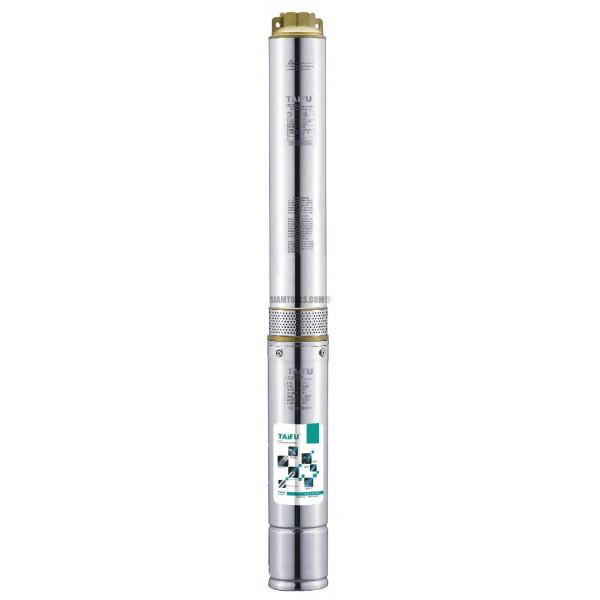 """ปั๊มน้ำบาดาล TAIFU 4STM6-14-2HP-(1 1/2""""X4""""):14 ใบพัด เครื่องมือการเกษตร"""