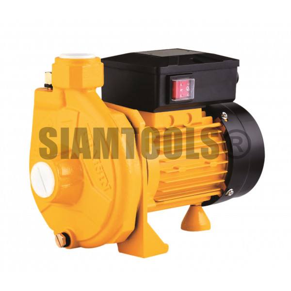 """ปั๊มหอยโข่ง ใบพัดทองเหลือง ขดลวดทองแดง-TSM-100M-1HP(1""""x1"""") เครื่องมือการเกษตร"""