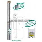 """ปั๊มน้ำบาดาล TAIFU 4STM6-8-1HP-(1 1/2""""X4""""): 8 ใบพัด เครื่องมือการเกษตร"""