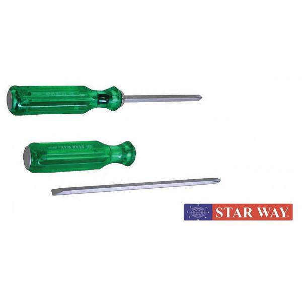 ไขควงทะลุ แบบสลับ + - ดอกไขควงลม,ตอก,กุญแจหกเหลี่ยม